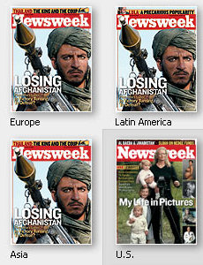 [Newsweek covers]