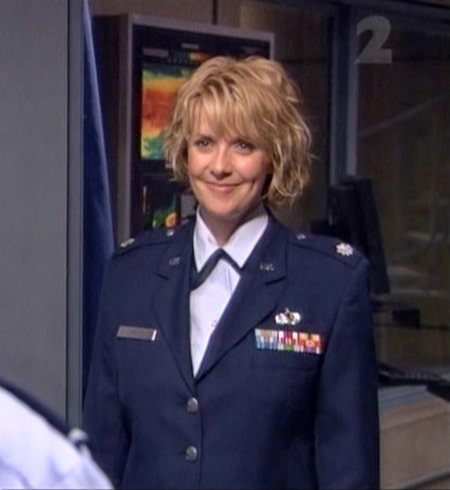 [Amanda Tapping IN UNIFORM]