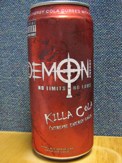 Demon Energy: Killa Cola