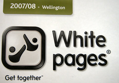 picture of white pages logo